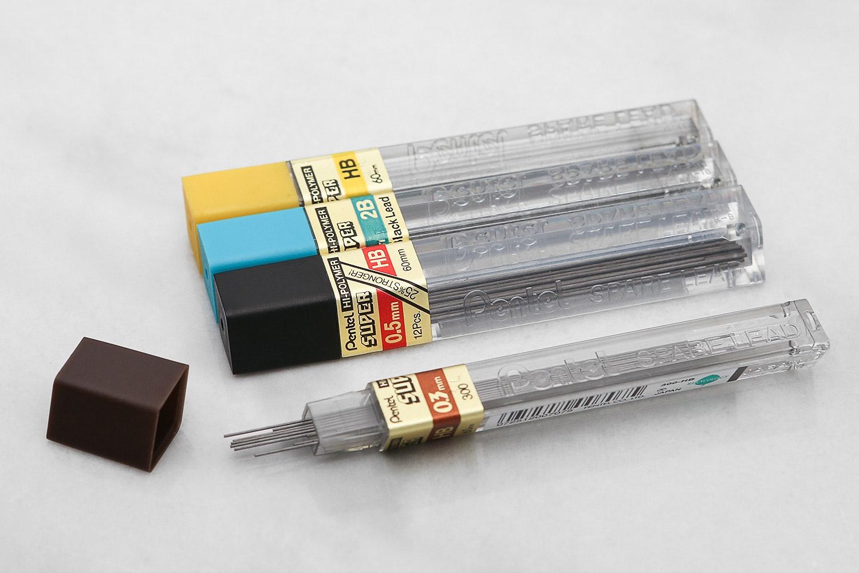 Pentel GraphGear 1000 Premium Drafting Pencil Set