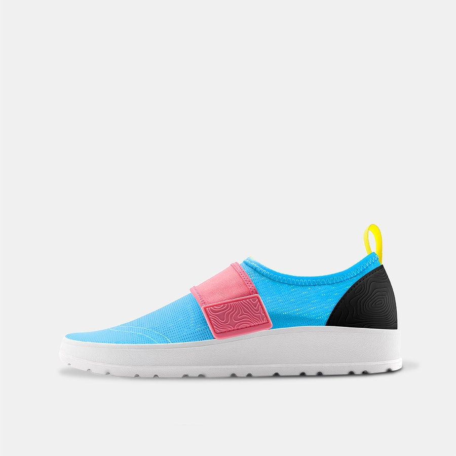 People Footwear Aqua Lennon Slip-On Sneakers