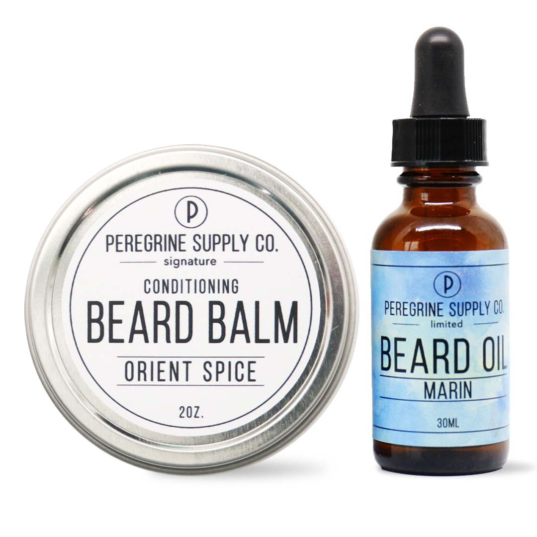 Peregrine Supply Co. Solid Beard Balm & Oil