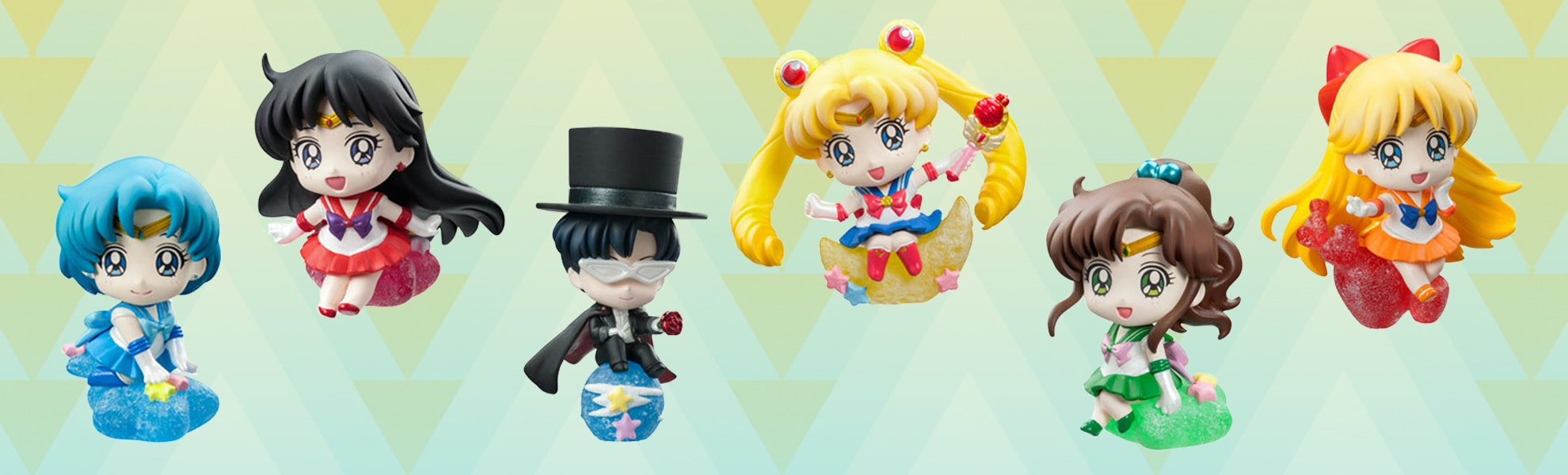 Petit Chara Land: Sailor Moon Makeup Figure Set
