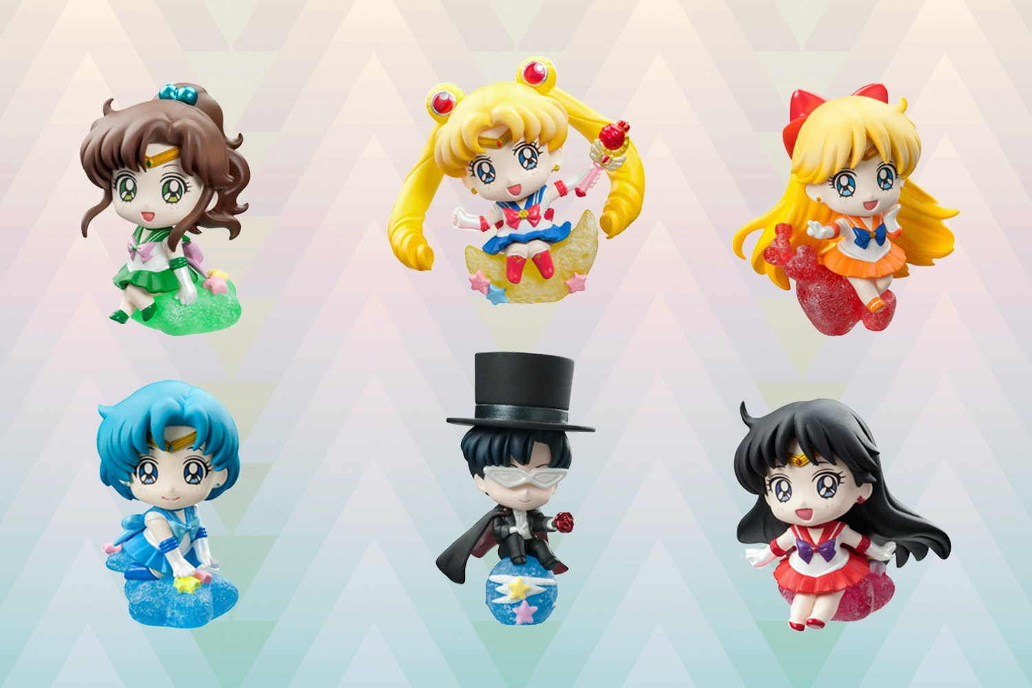 Petit Chara Land: Sailor Moon Makeup Figure Set
