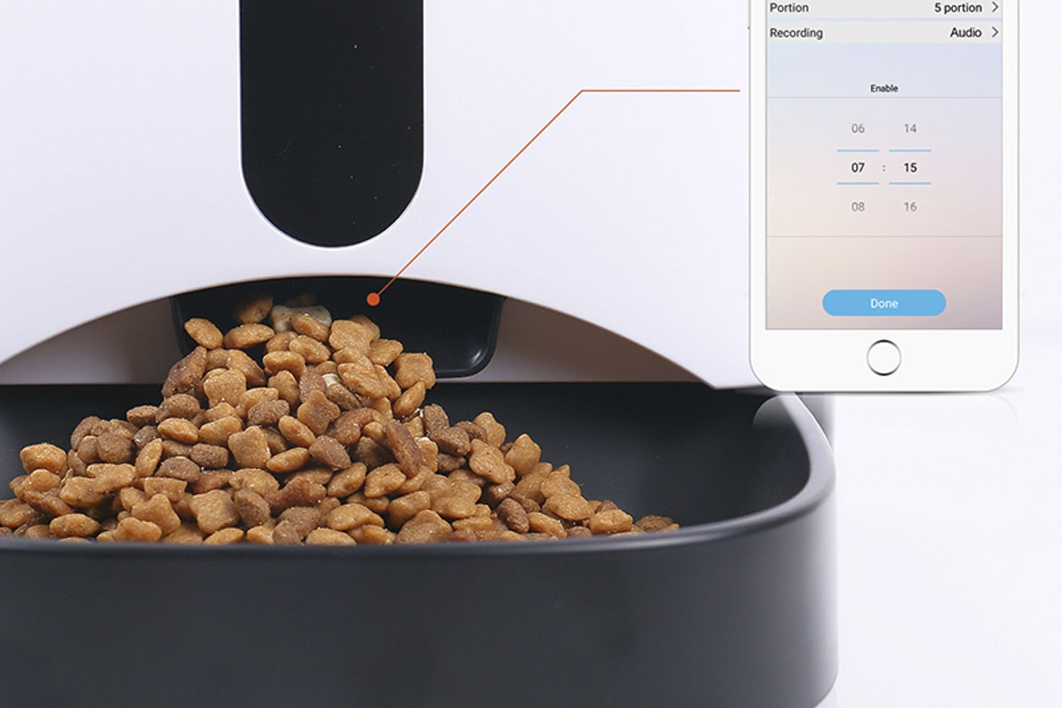 Petwant Pet Feeder w/Android & iPhone Controls