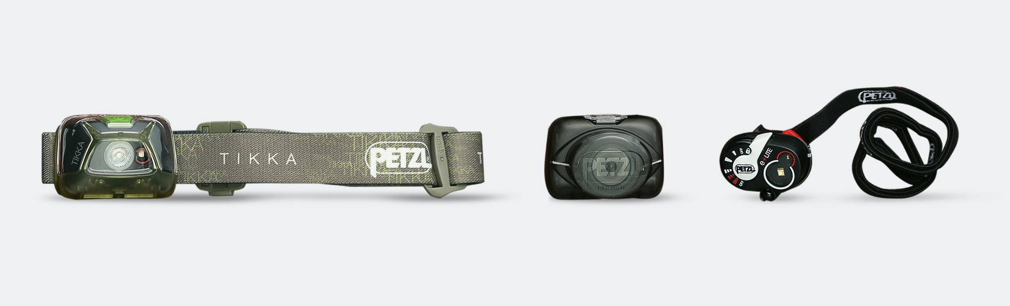 Petzl New e+Lite & Tikka Headlamps