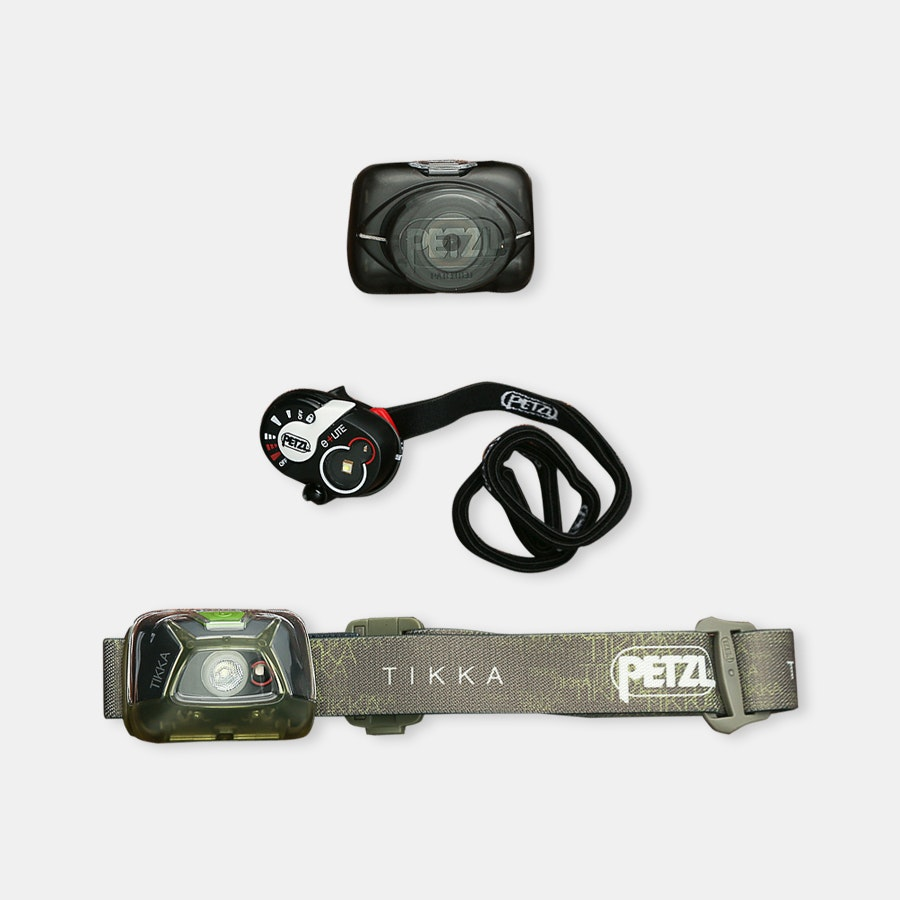 Petzl New e+Lite & Tikka Headlamps