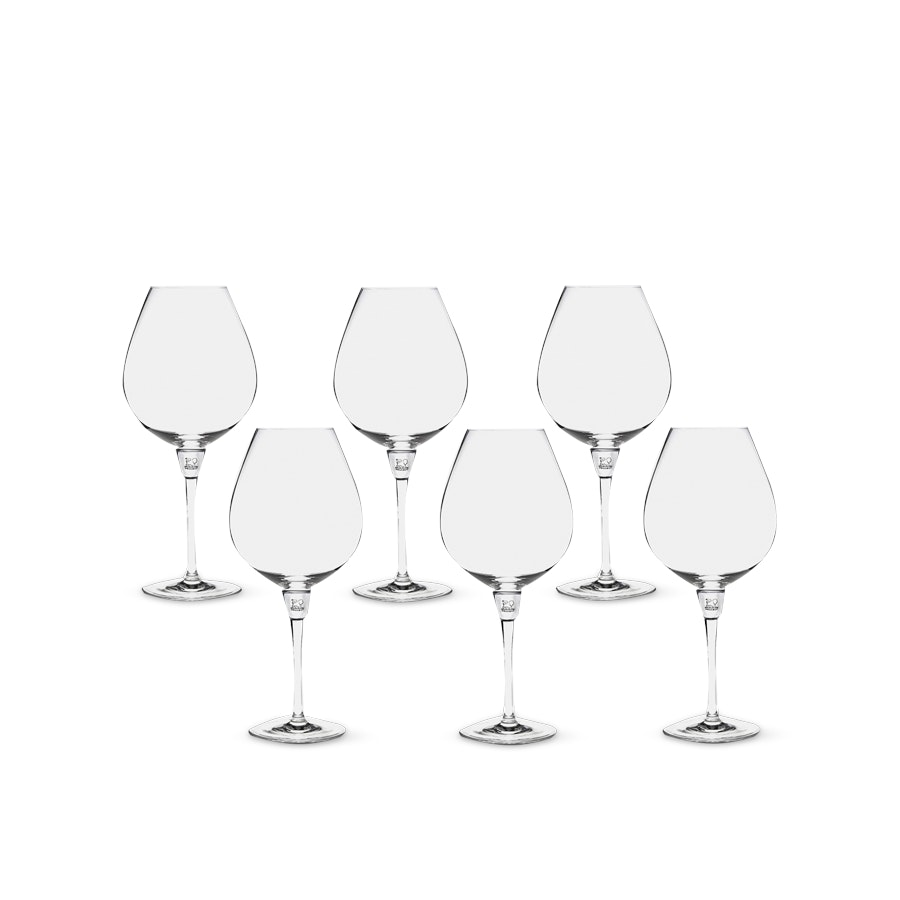 Peugeot Les Impitoyables Glasses (Set of 6)