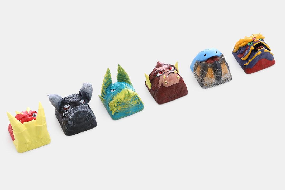 Keycrafts ID Monster Artisan Keycaps