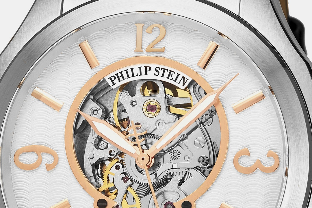 Philip Stein Prestige Skeleton Automatic Watch