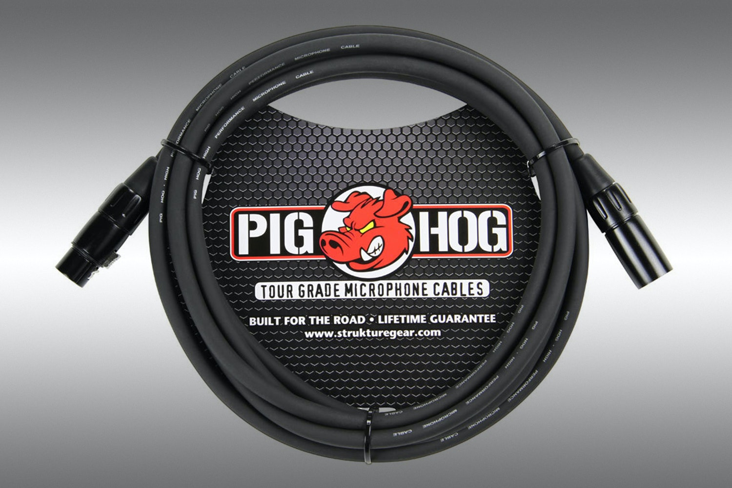 Pig Hog 8mm Microphone Cable