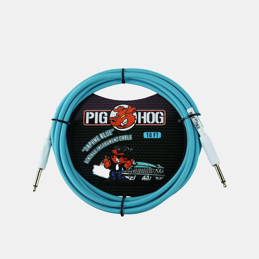 "Pig Hog Vintage Series 1/4"" Instrument Cables"