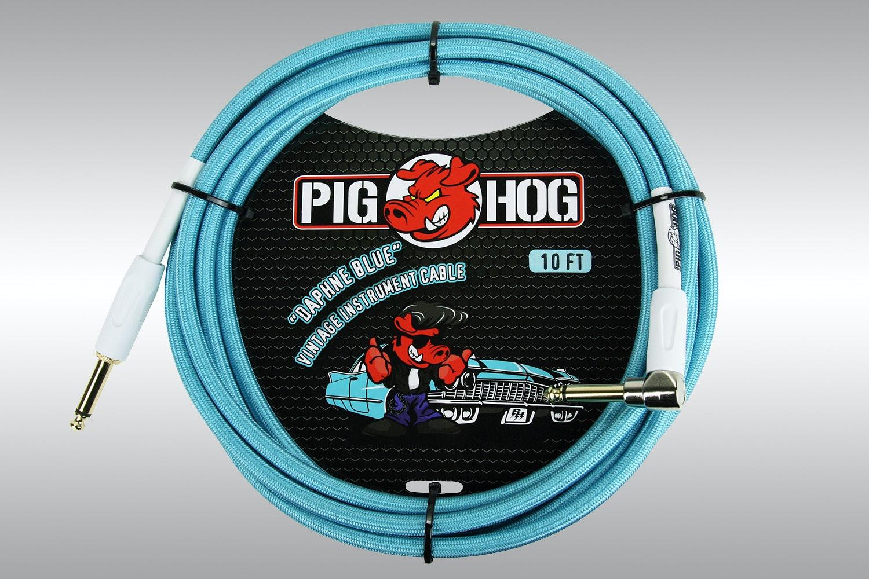 """Pig Hog Vintage Series 1/4"""" Instrument Cables"""
