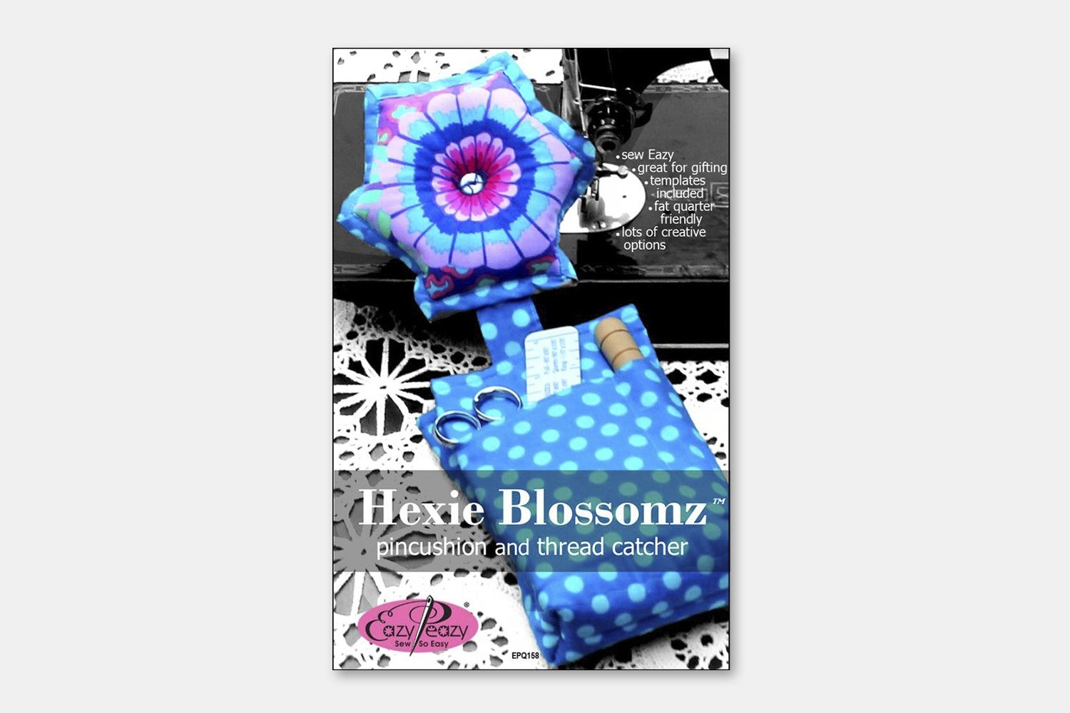 Eazy Peazy Quilts - Hexie Blossomz