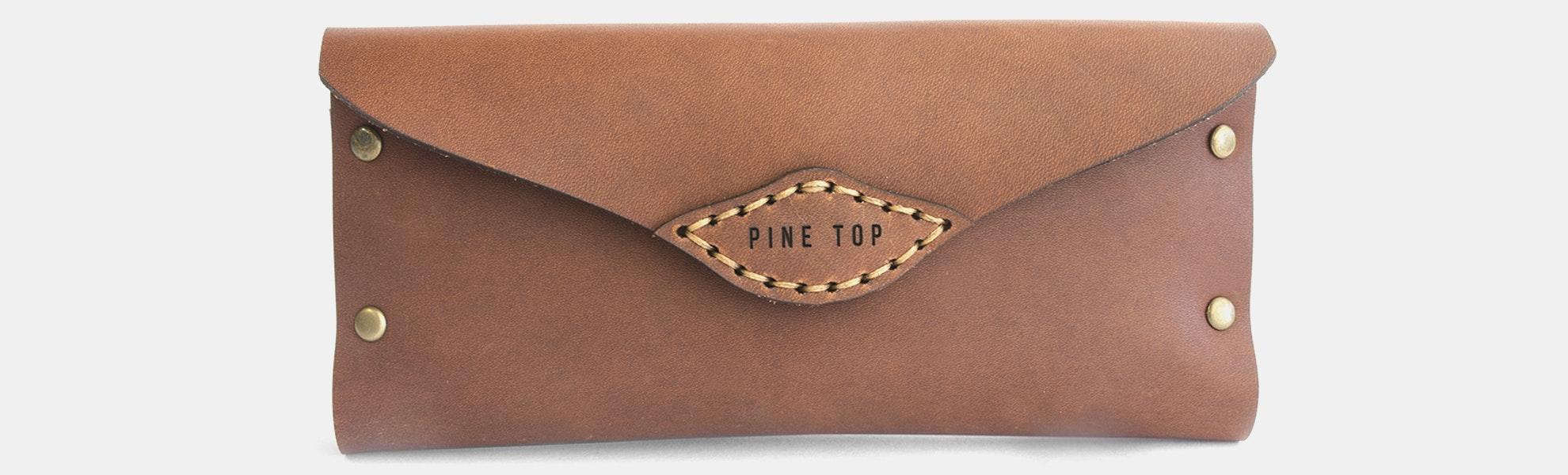 Pine Top Glasses Case