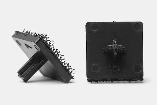 Pine Wood Mechanical Keyboard Keycap Frame