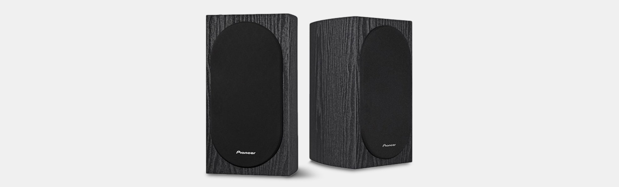 "Pioneer Andrew Jones 4"" 2-Way Bookshelf Speakers"
