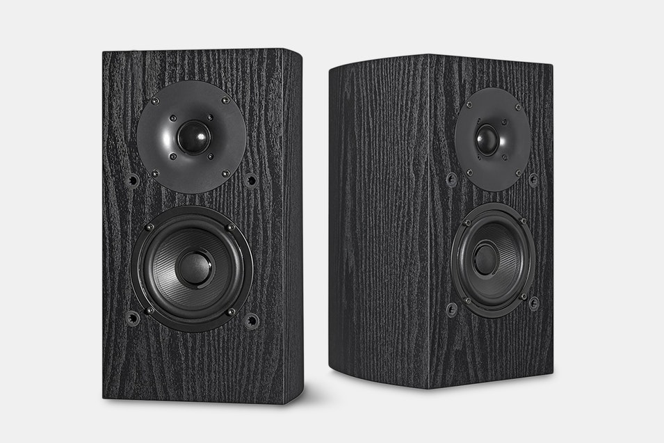 Capable Of Handling 80 Watts And Delivering A Wide Frequency Response These Speakers Are Sure To Take Your Listening Experience The Next Level