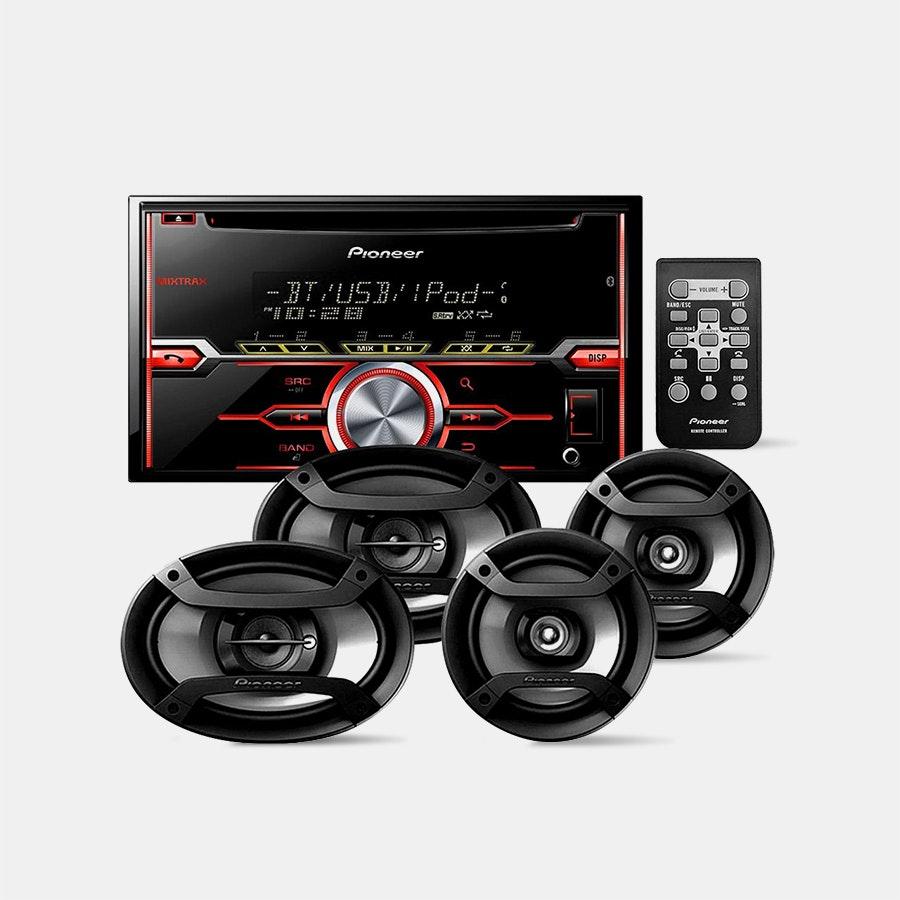 Pioneer FXT-X7269BT Package with 4 Speakers