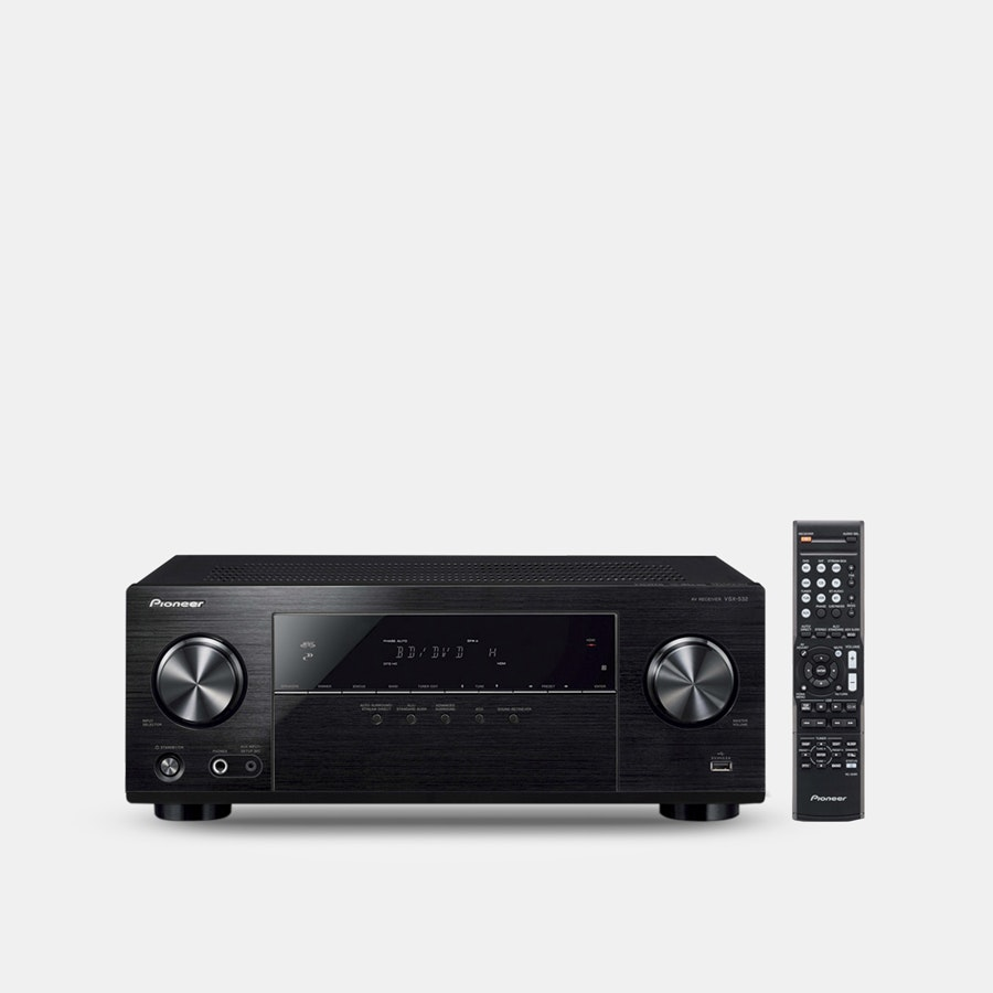 Pioneer VSX-532/VSX-832 5.1-Channel AV Receivers