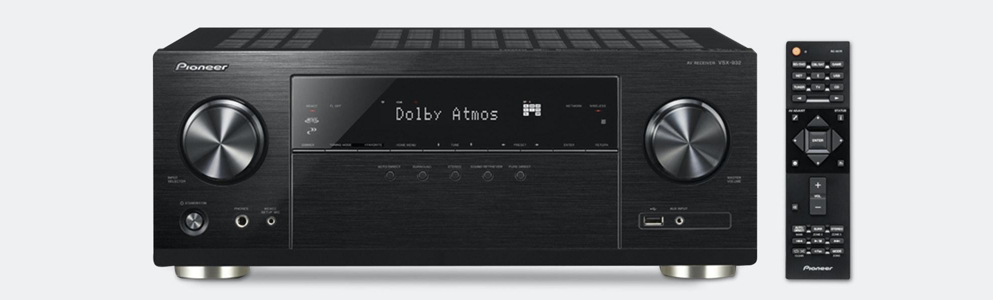 Pioneer VSX-932 7.2ch 4K UHD Network AV Receiver