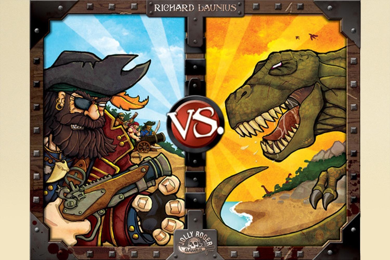 Pirates vs. Dinosaurs Board Game