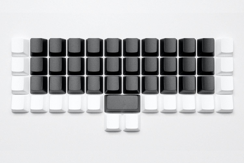 Black Alphas, White Modifiers - OEM - ABS