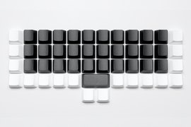 Black Alphas, White Modifiers - OEM - ABS