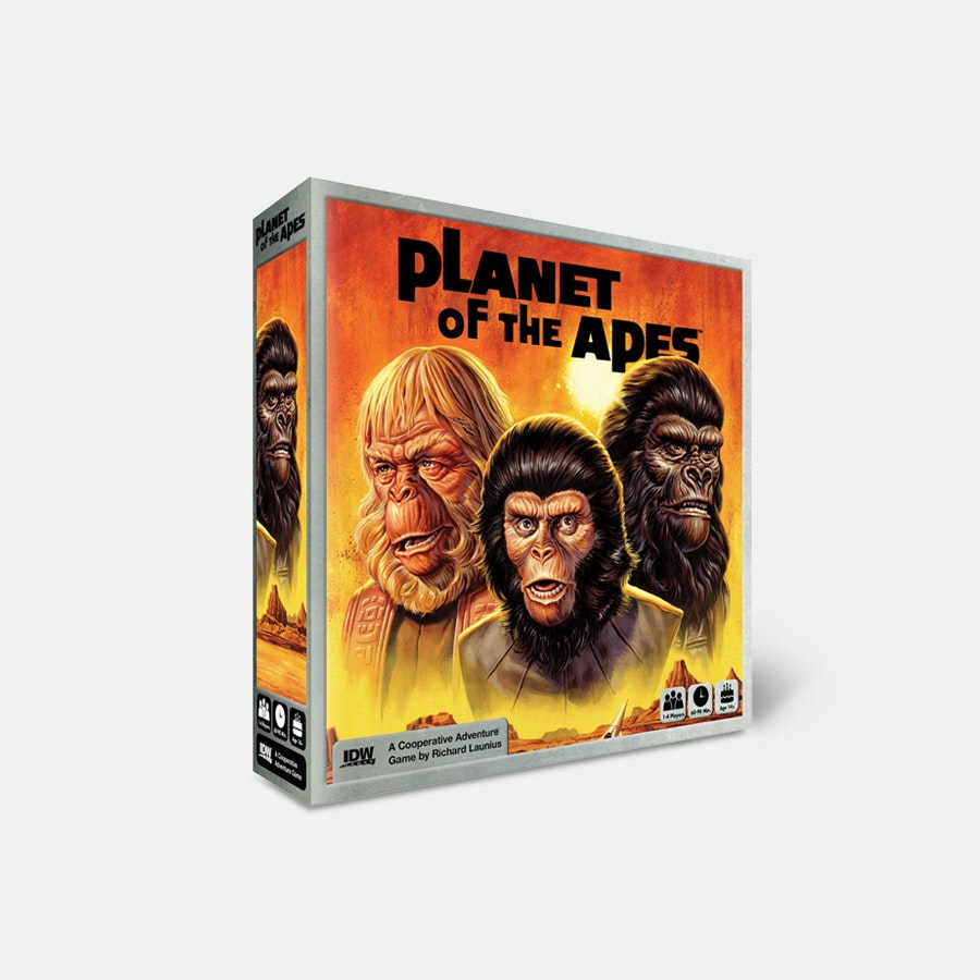 Planet of the Apes Adventure Board Game
