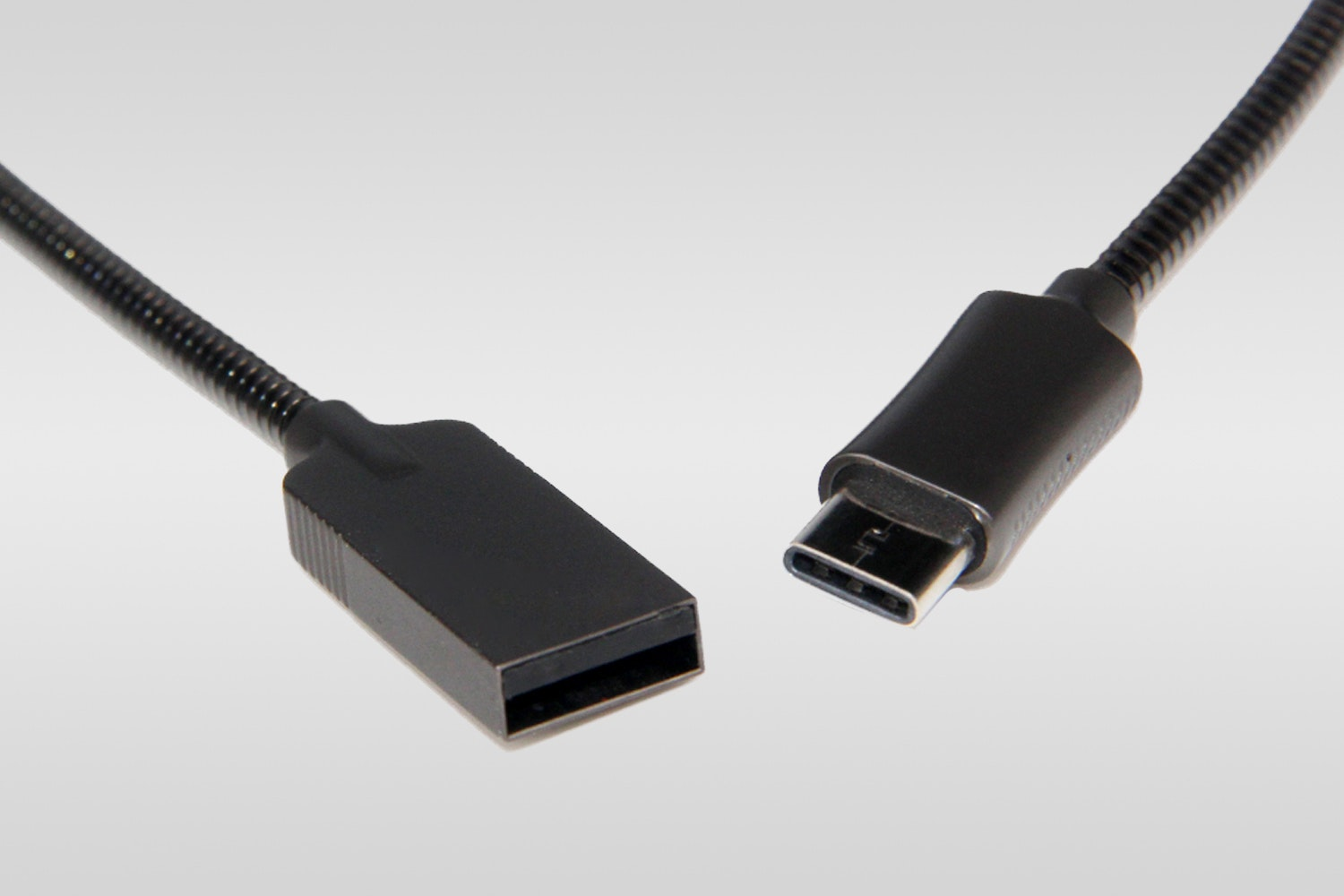 Plugies Stainless Steel USB Cables (2-Pack)