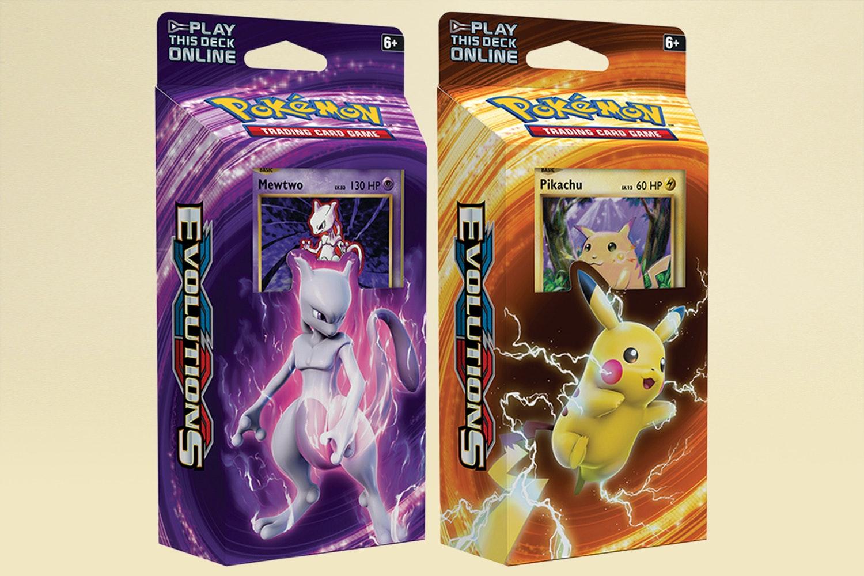 Pokémon XY Evolutions Elite Trainer & Theme Decks