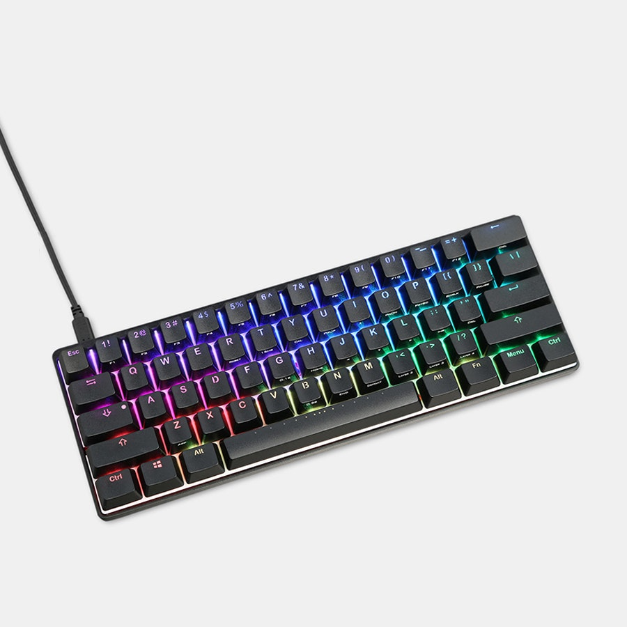 Pok3r RGB Backlit Mechanical Keyboard