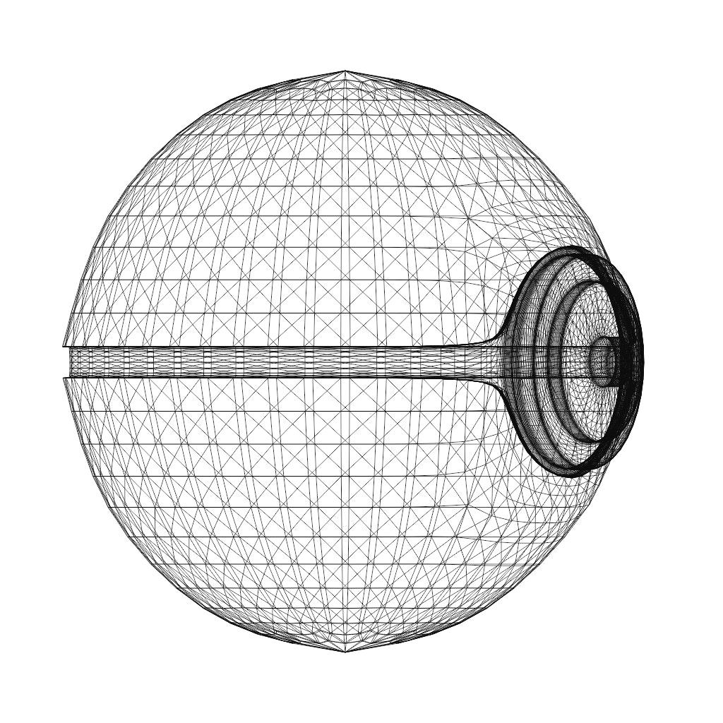 3D Printed Pokeball