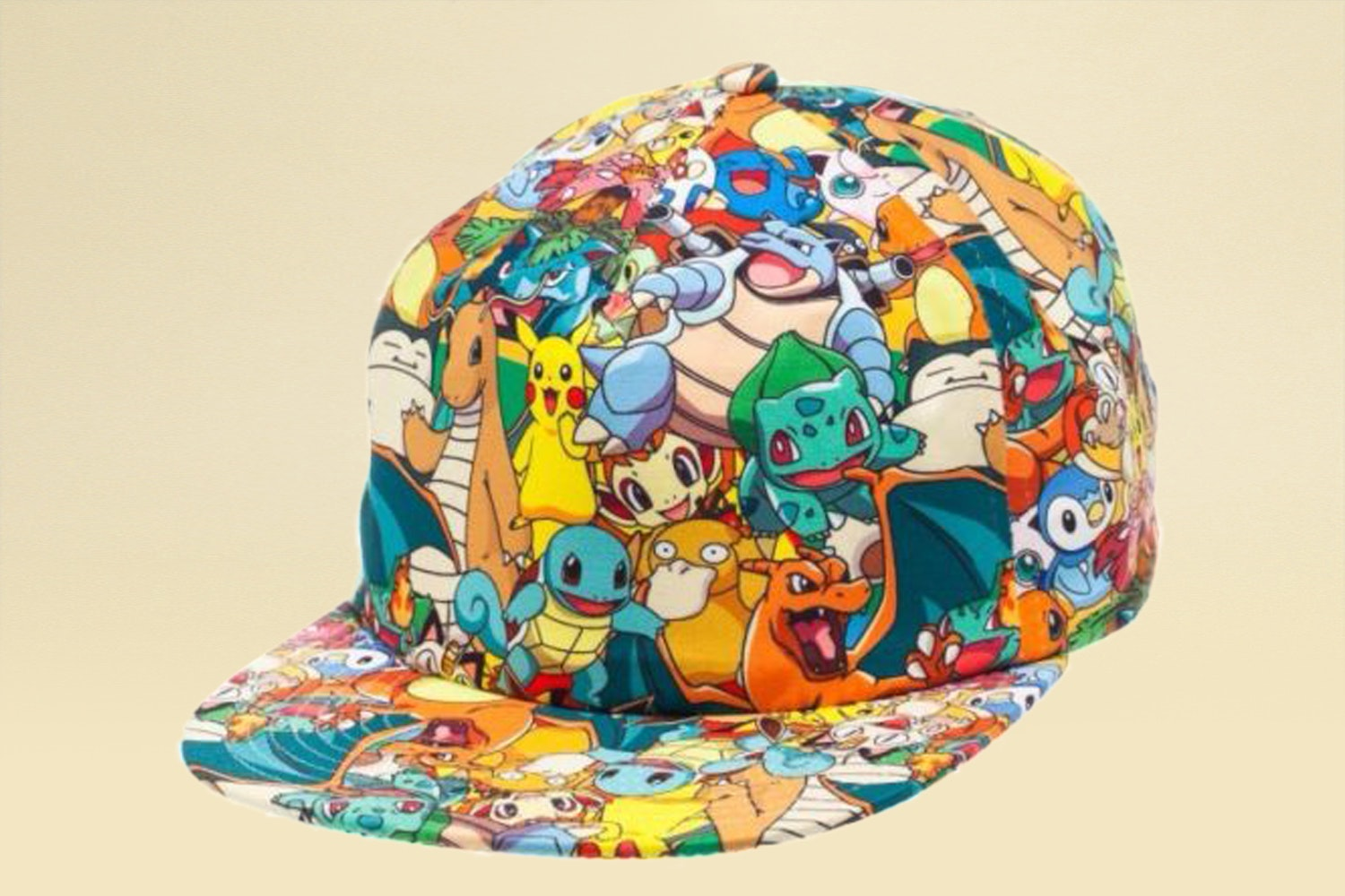 Pokémon All-Over-Print Snapback Hat