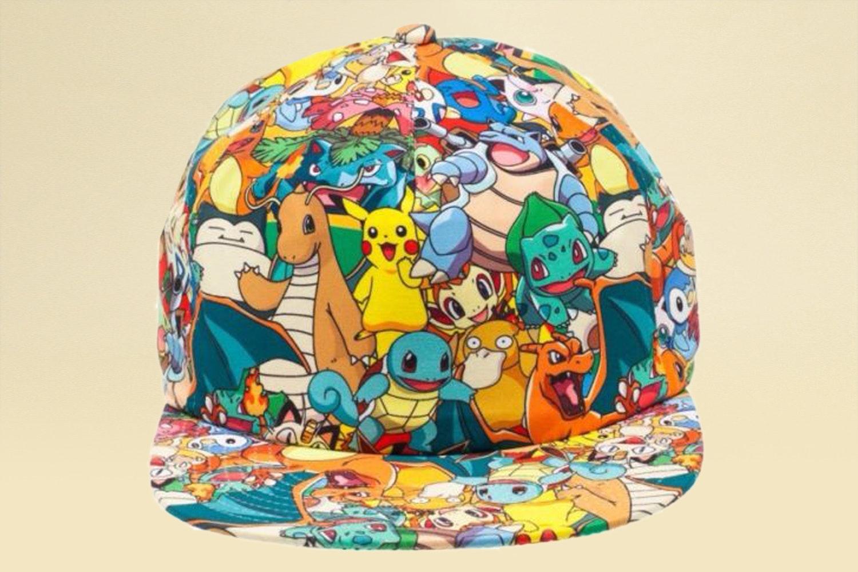 Pokémon All-Over-Print Snapback Hat