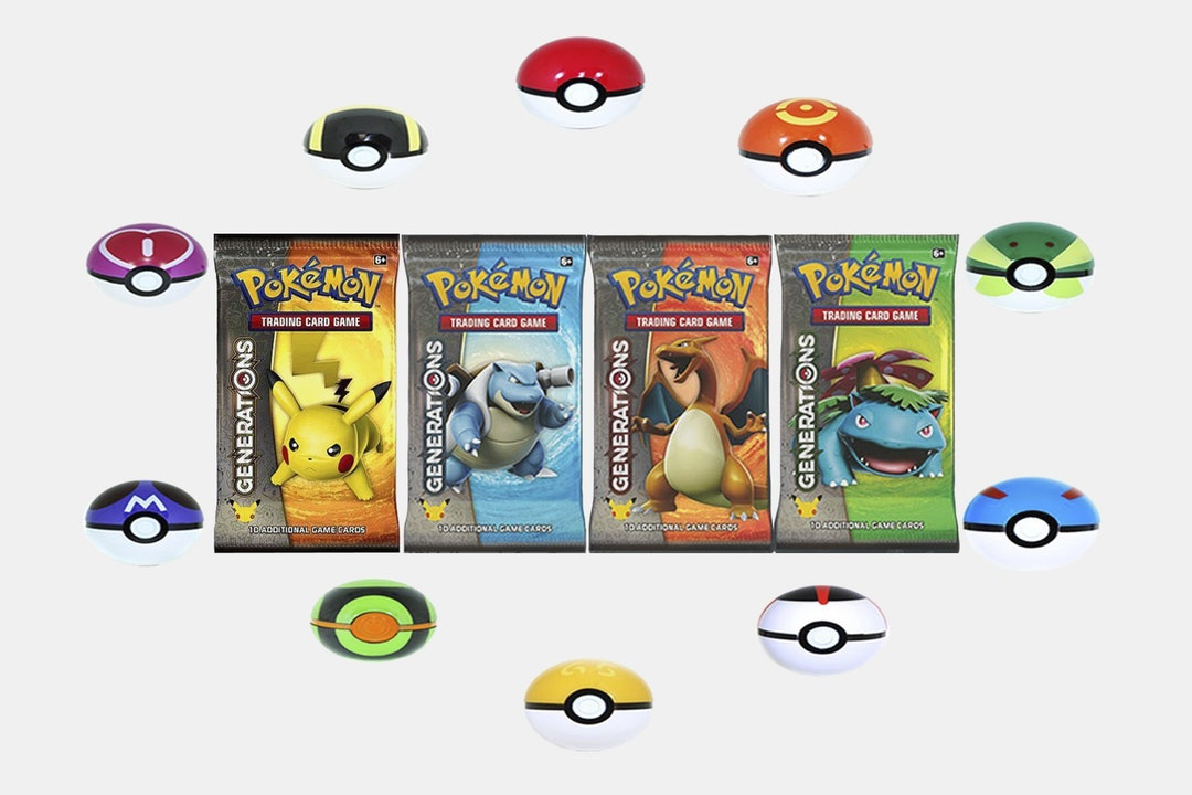 Pokémon Generations Booster Pack Bundle (6-Pack)