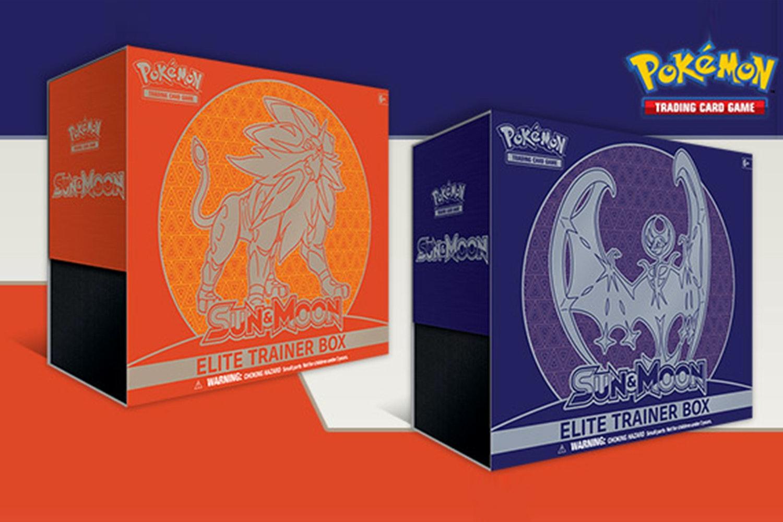 Pokémon Sun & Moon Elite Trainer Box & Theme Decks