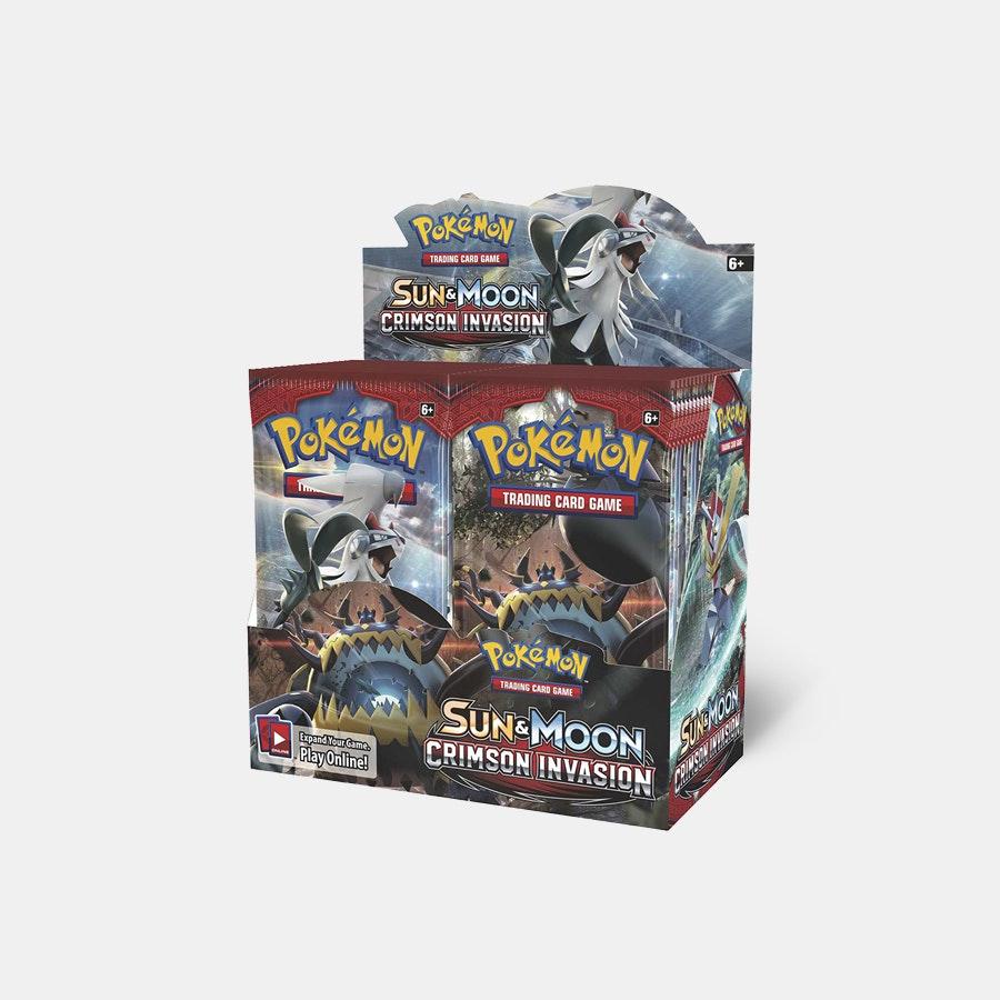 Pokémon Crimson Invasion Booster + Trainer Box