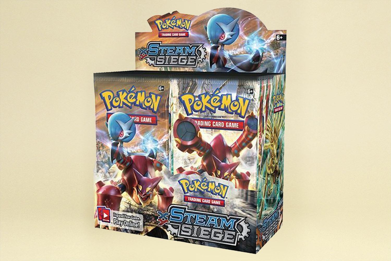 Pokémon XY Steam Siege Booster Box