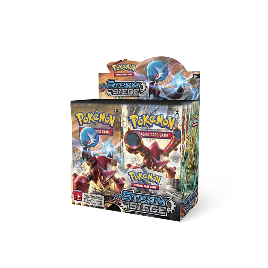 Pokémon XY Steam Siege Booster Box