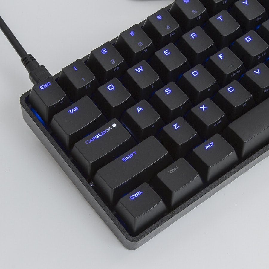 Vortex Poker II Backlit Compact Keyboard