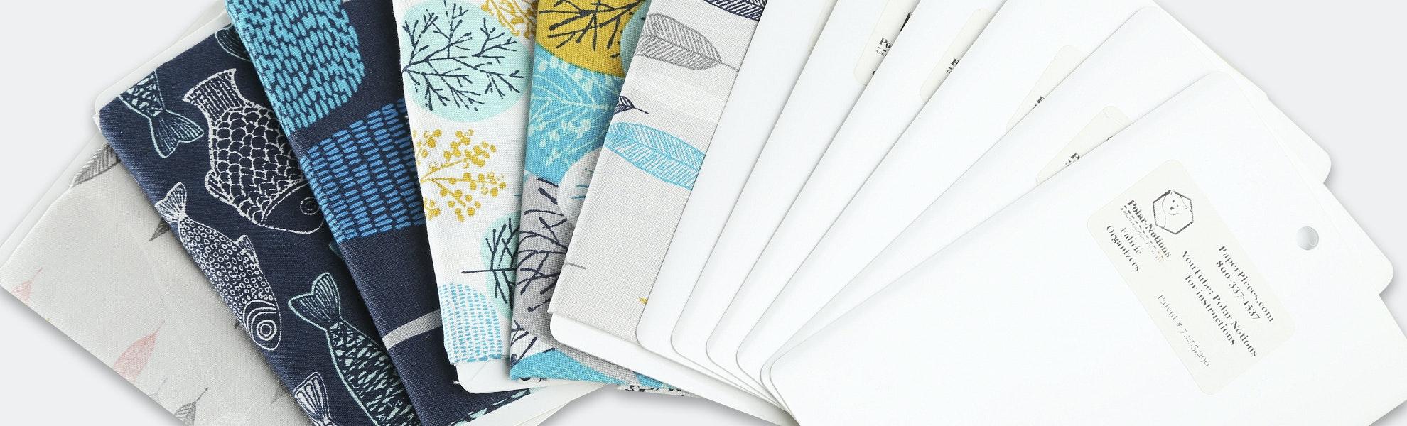 Polar Notions Fabric Organizers