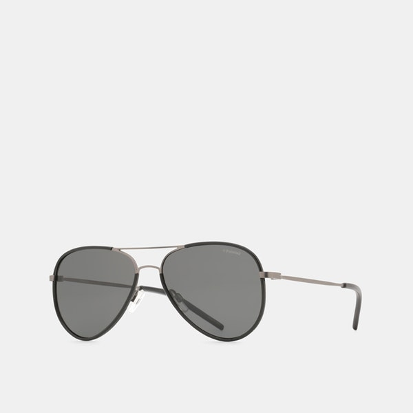 59932a6f97 Polaroid Lightweight Polarized Aviator Sunglasses