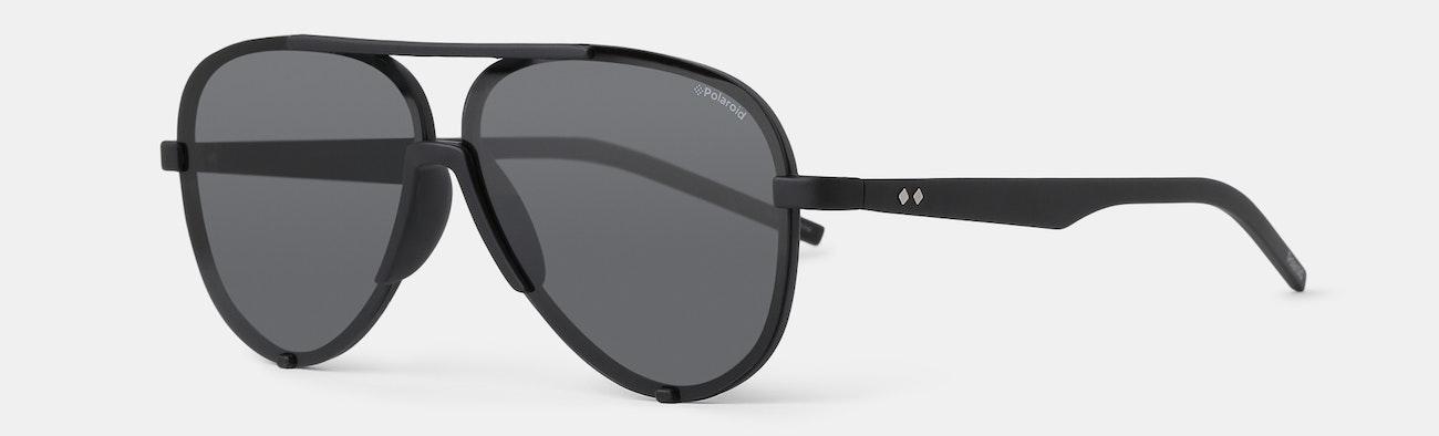 2c8a80a36d Polaroid Polarized Aviator Sunglasses
