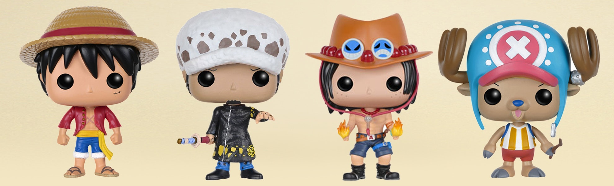 POP! Animation: One Piece Figures Set (2-Pack)