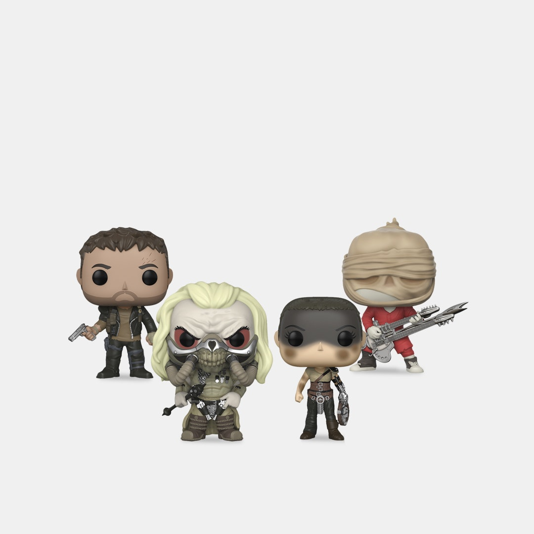POP! Movies Mad Max Fury Road Bundle (4-Pack)