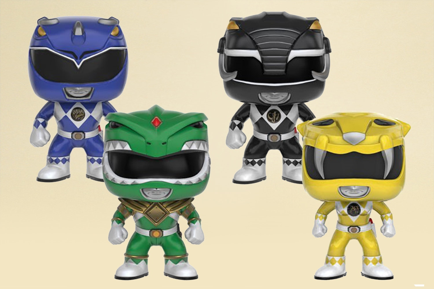 POP! TV: Mighty Power Rangers Set