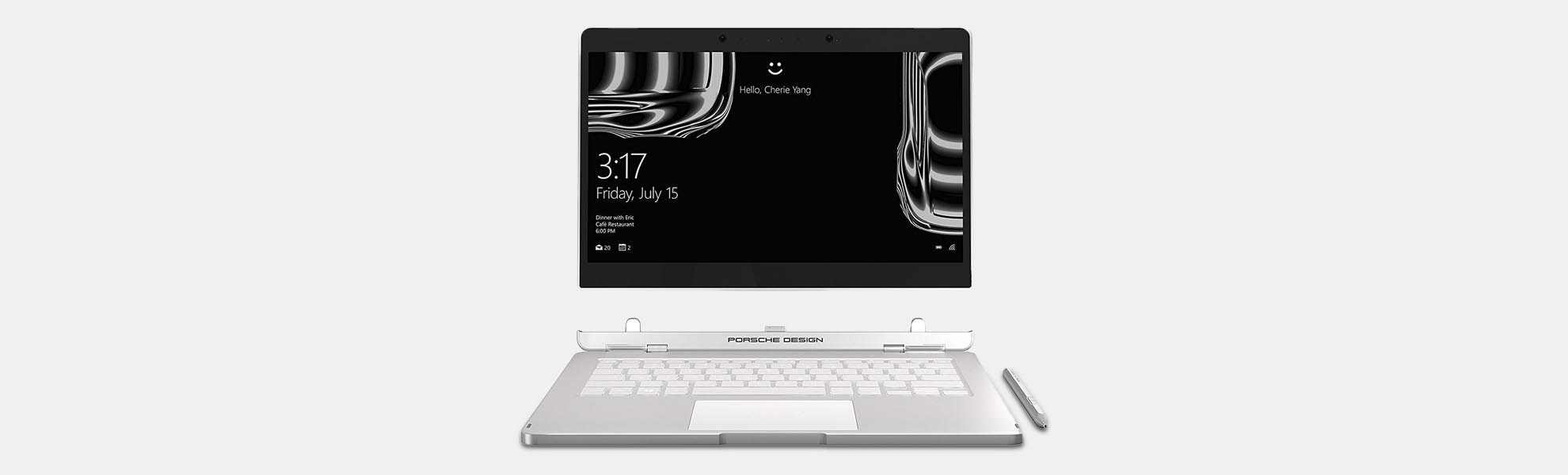 Porsche Design Book One Touchscreen Notebook