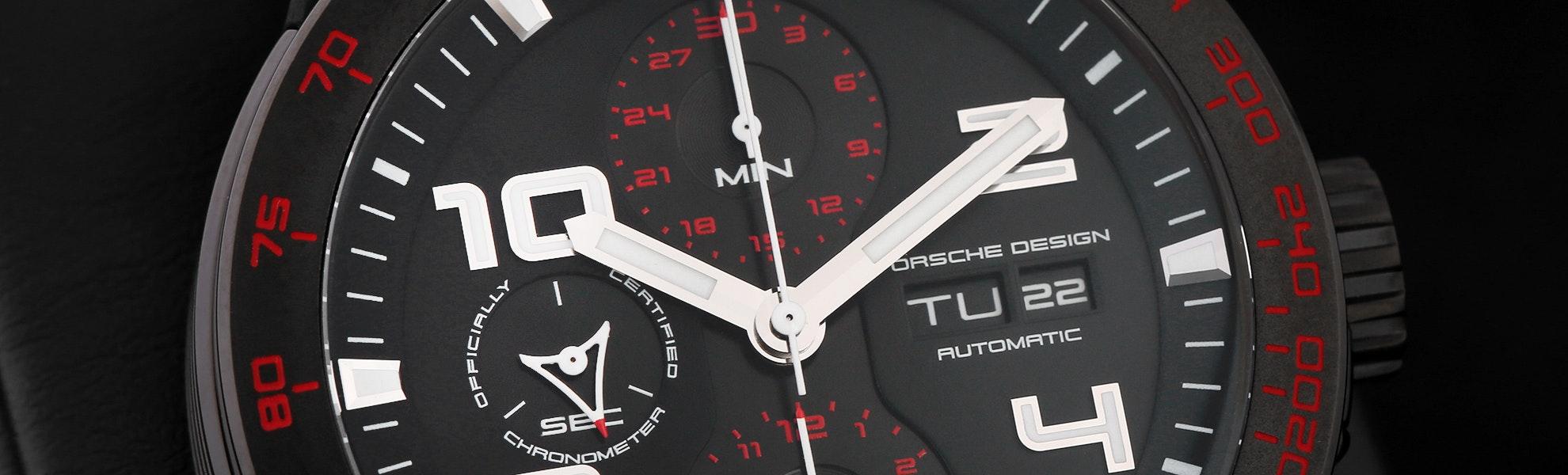 Porsche Design P'6340 Flat Six Automatic Watch