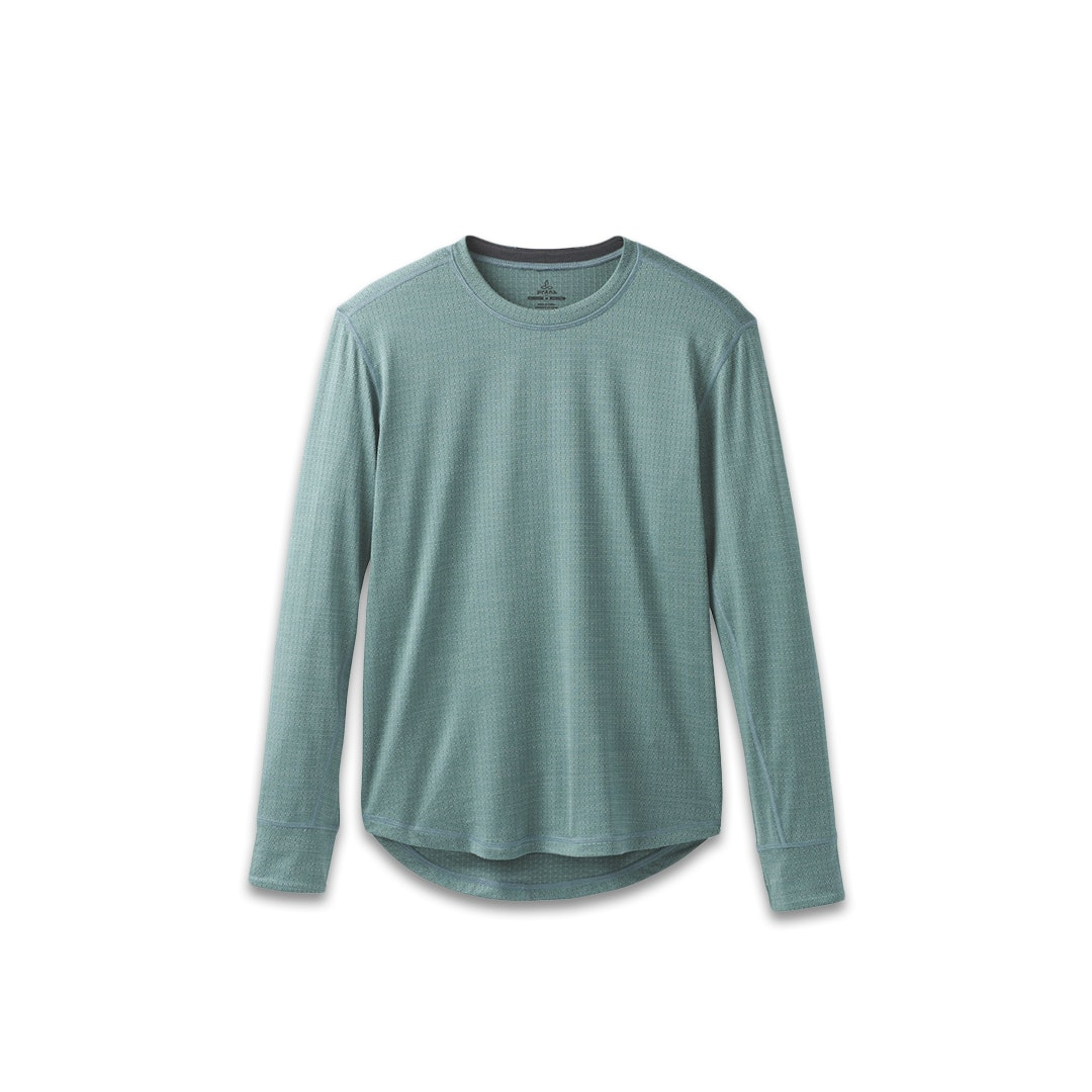 prAna Long-Sleeve & Short-Sleeve Men's Crew Shirts
