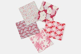 Cottage Fabric Collection - Fat Quarter - Plum/Red