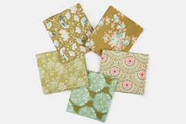 Harvest Fabric Collection - Fat Quarter - Green