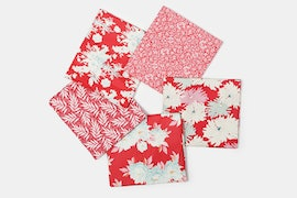 Cottage Fabric Collection - Fat Quarter - Red